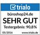 Zertifikat trialo Testergebnis