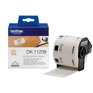 800 brother Etiketten DK11209 weiß