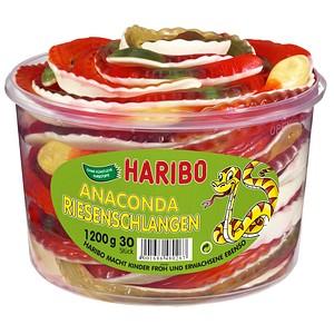 HARIBO RIESENSCHLANGEN Fruchtgummi 1,2 kg