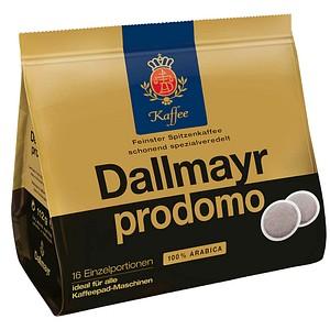 Dallmayr Kaffee prodomo Kaffeepads 16 Pads