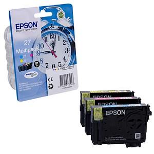 EPSON 27 / T2705 cyan, magenta, gelb Tintenpatronen