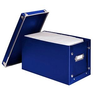 hama Media Box 140 CD-/DVD-Box blau