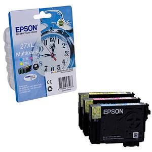 EPSON 27XL / T2715XL cyan, magenta, gelb Tintenpatronen