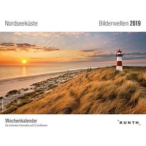 Kunth Tischquerkalender Nordseeküste 2019