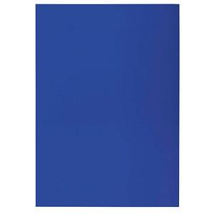 100 RENZ Rückwände für Bindemappen blau