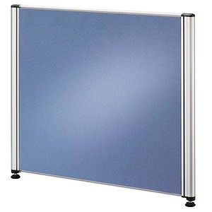 HAMMERBACHER Tischtrennwand blau