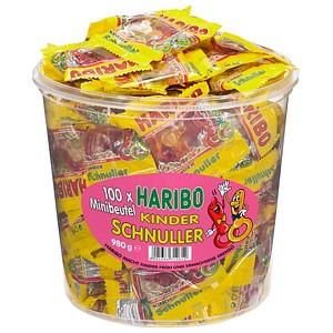 HARIBO KINDER SCHNULLER Minibeutel Fruchtgummi ...