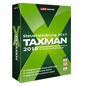 LEXWARE TAXMAN 2018 Vollversion