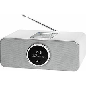 AEG SR 4372 BT/DAB+ Radio weiß
