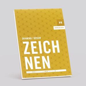 RÖMERTURM Zeichenblock ZEICHNEN A4