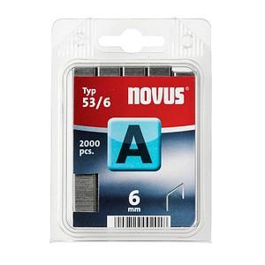 2.000 novus Heftklammern 53/6 6 mm