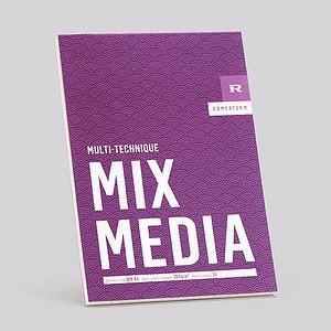 RÖMERTURM Zeichenblock MIX MEDIA A4