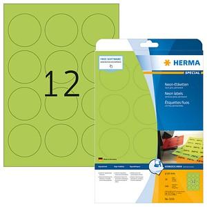 240 HERMA Etiketten 5155 grün