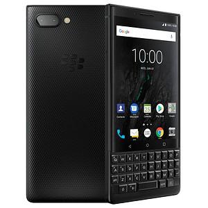BlackBerry KEY2 Dual-SIM-Smartphone schwarz 128 GB