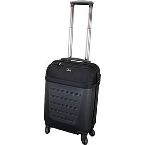 JSA Reise-Trolley Kunststoff schwarz
