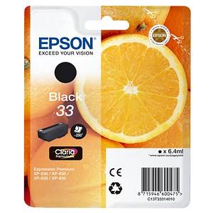 EPSON 33 / T3331 schwarz Tintenpatrone