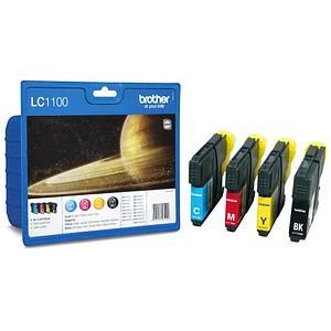 brother LC-1100BK/C/M/Y schwarz, cyan, magenta, gelb Tintenpatrone