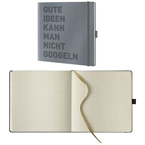 Lediberg Notizbuch gute Ideen quadratisch kariert