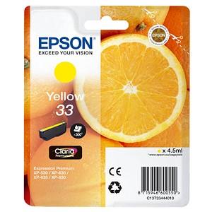 EPSON 33 / T3344 gelb Tintenpatrone