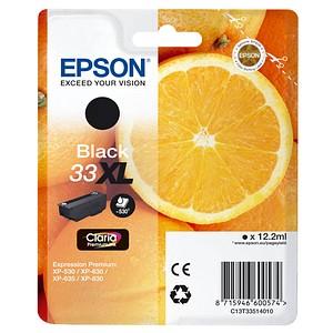 EPSON 33XL / T3351XL schwarz Tintenpatrone
