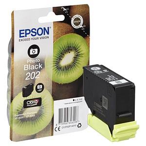 EPSON 202/T02F14 schwarz Tintenpatrone
