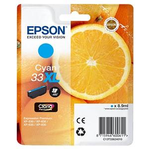 EPSON 33XL / T3362XL cyan Tintenpatrone