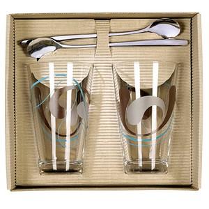 rastal Latte Macchiato-Set Kulti transparent