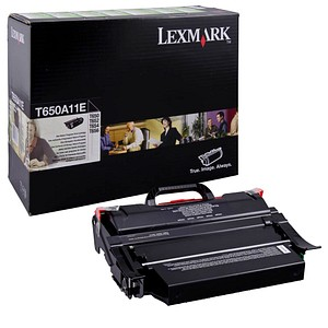 Lexmark T650A11E schwarz Toner