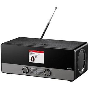 hama DIR3100 Internet-Radio schwarz