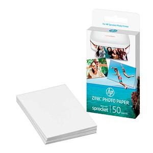 50 Blatt HP ZINK® weiß Fotopapier
