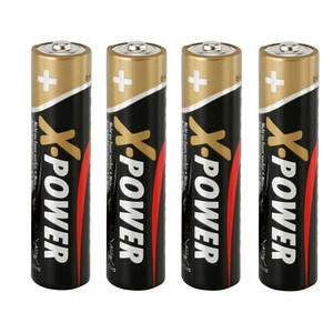 4 ANSMANN Batterien X-POWER Micro AAA 1,5 V