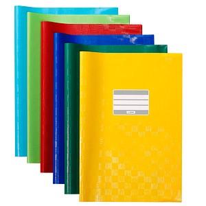 10 HERMA Heftumschläge farbsortiert A4