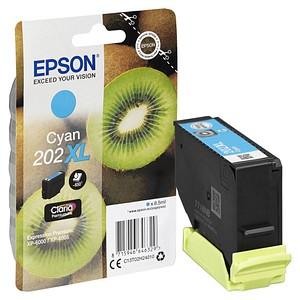 EPSON 202 XL/T02H24 cyan Tintenpatrone