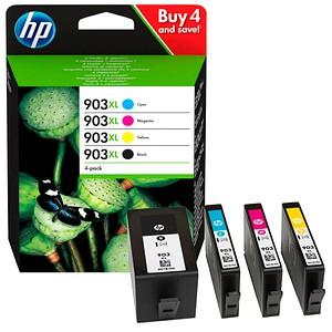 HP 903XL schwarz, cyan, magenta, gelb Tintenpatronen