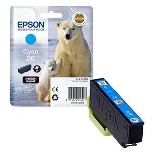 EPSON 26 / T2612 cyan Tintenpatrone