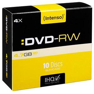 10 Intenso DVD-RW