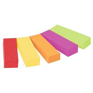5x 50 Streifen Post-it® Page Marker Haftmarker farbsortiert