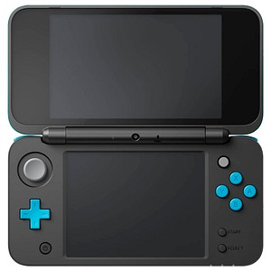 Nintendo 2DS XL Spielkonsole schwarz