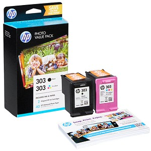 HP Value Pack 303 schwarz, color Tintenpatronen
