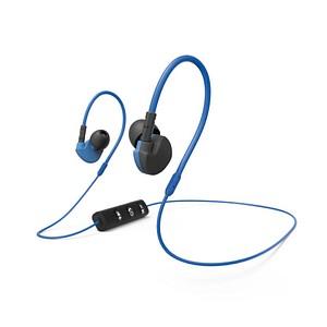 hama Active BT Bluetooth-Headset blau