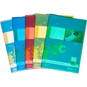 5 JOLLY Heftumschläge farbsortiert A4