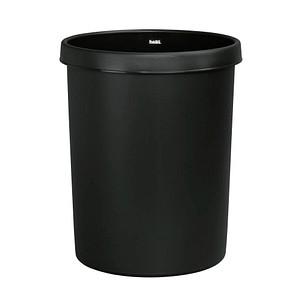 helit Papierkorb 45,0 l schwarz