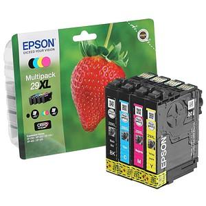 EPSON 29XL / T2996XL schwarz, cyan, magenta, gelb Tintenpatronen