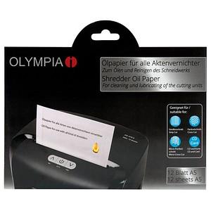 OLYMPIA Aktenvernichter-Ölblätter