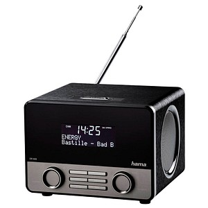 hama DR1600 Radio schwarz