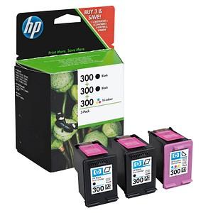 HP 300 schwarz, color Tintenpatronen