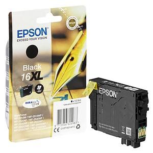 EPSON 16XL / T1631XL schwarz Tintenpatrone