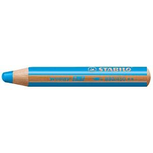 STABILO Woody 3 in 1 Buntstift blau