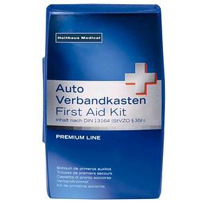 Erste-Hilfe-Kasten Premium DIN 13164 blau
