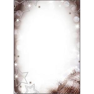 sigel Weihnachtsbriefpapier Christmas Diamond D...
